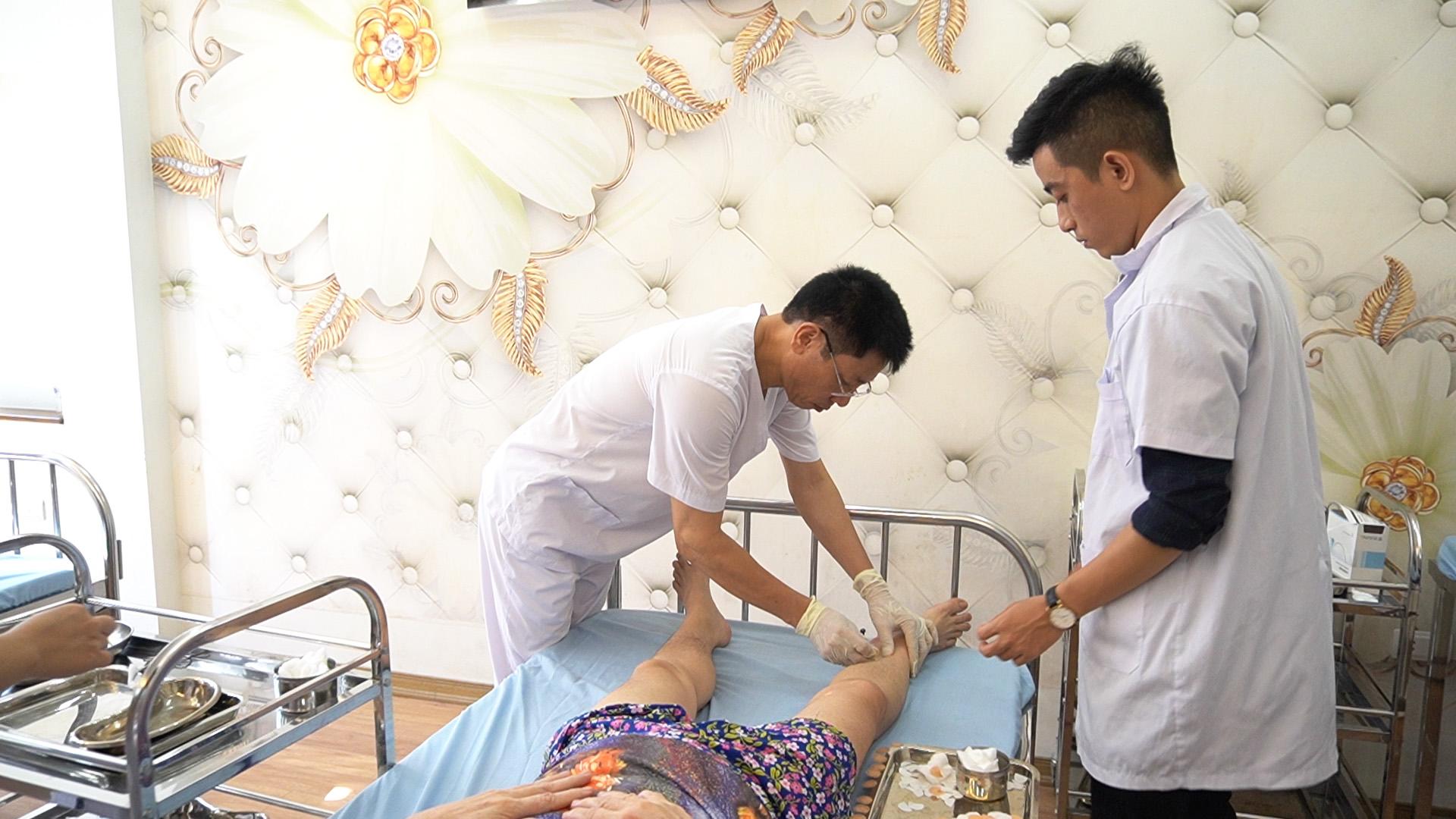 Bệnh nhân đến với viện cấy chỉ Hải Thượng Lãn Ông sẽ được trải nghiệm phương pháp cấy chỉ tốt nhất